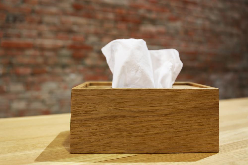 木工職人實木面紙盒